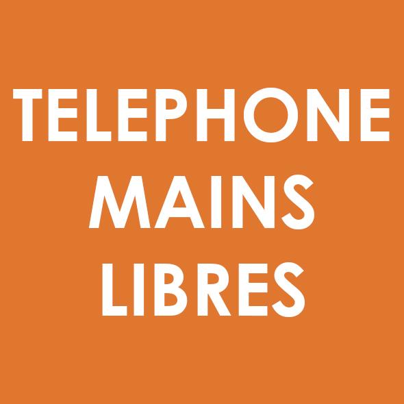 Téléphone mains libres